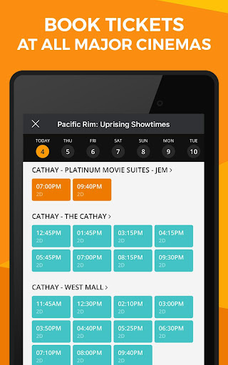Popcorn: Movie Showtimes, Tickets, Trailers & News 5.10.29 screenshots 10