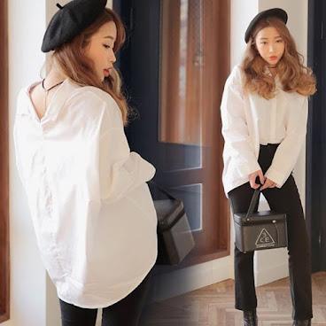 新款韓版白色恤衫 $179 有興趣聯絡:6991-7992
