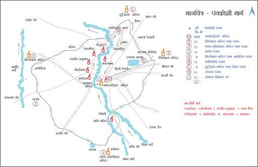 Panchkroshi Yatra Route Ujjain