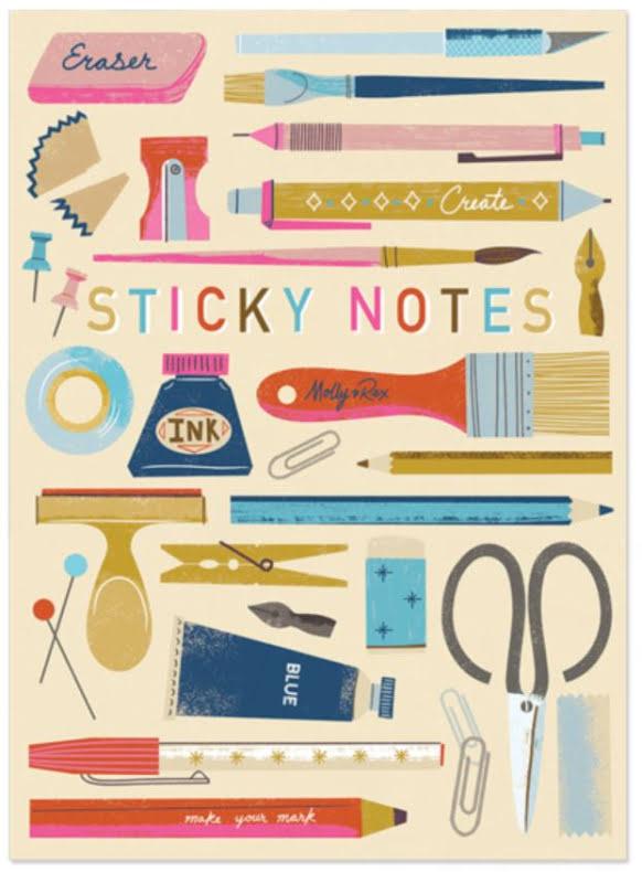 Art Lover Sticky Pad Portfolio (16060)