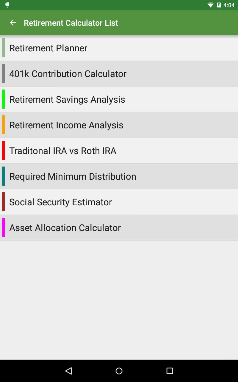 Financial Calculators screenshot #21