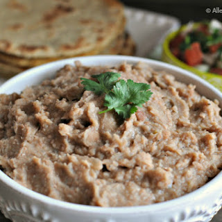 World's Best Crock Pot Refried Beans.