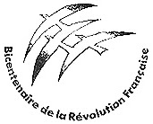 Photo: Alianza Francesa de Buenos Aire, Salon « Bicentennaire de la Révolution Française », July 1989. Event logo by Jean-Michel Folon.