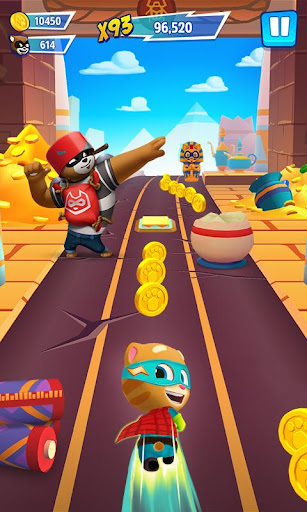 Talking Tom Hero Dash - Run Game  screenshots 5