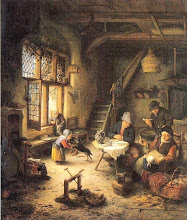 Photo: 1661 Peasant family, but fairly prosperous.