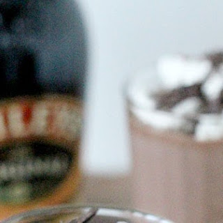 Frozen Hot Chocolate with Baileys.