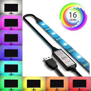 Banda Smart LED RGB 5 metri, lumina ambientala, TV, USB, Wi-Fi