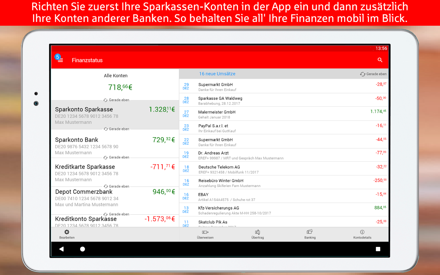 online banking sparkasse mit android
