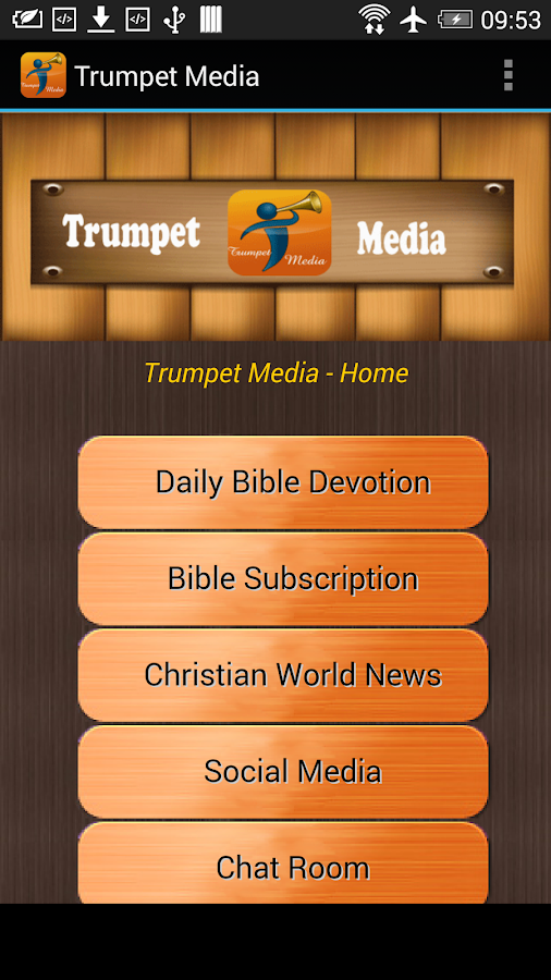 Trumpet Media- screenshot