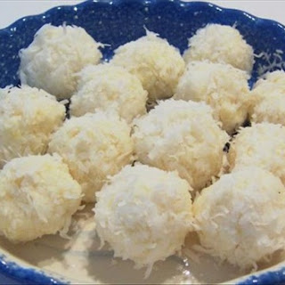 Pineapple Coconut Snowballs