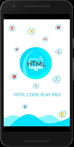 HTML Code Play Pro screenshot