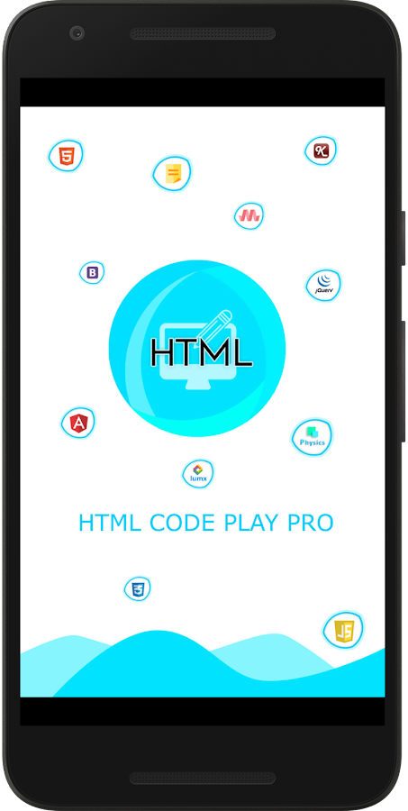 HTML Code Play Pro- screenshot