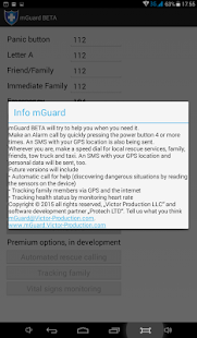 mGuard - Mobile bodyguard- screenshot thumbnail