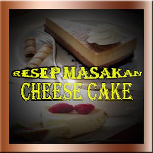 Resep Cheese Cake Lengkap - náhled
