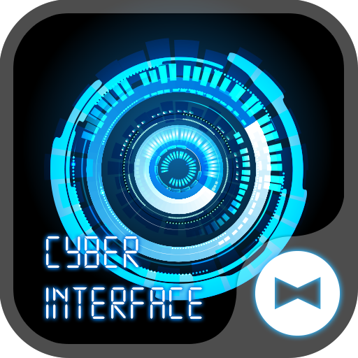 Cyber Interface Cool Theme Icon