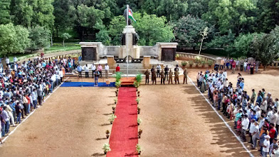 Photo: Independence Day at IISc, 2015