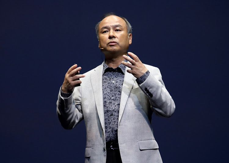 SoftBank CEO Masayoshi Son. Picture: BLOOMBERG/TOMOHIRO OHSUMI