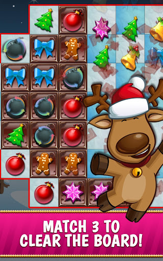 Christmas Crush Holiday Swapper Candy Match 3 Game filehippodl screenshot 2