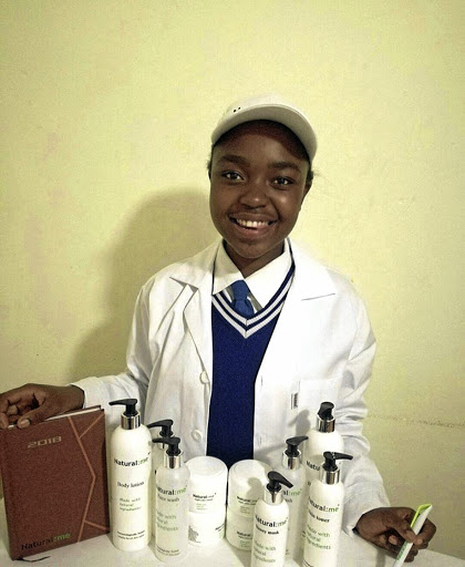Snikiwe Xaba's problem with her skin, prompted her to start her own facial products.