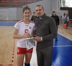 Photo: MVP Tamara Radmilović