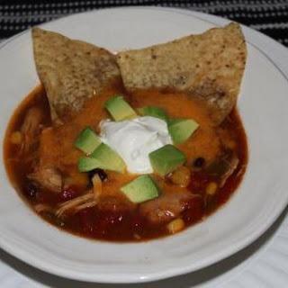 Crock Pot Chicken Enchilada Soup