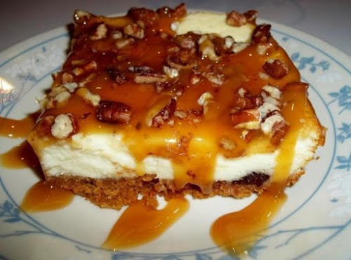 """Turtle Cheesecake """"This was a big hit with my family! And it..."""