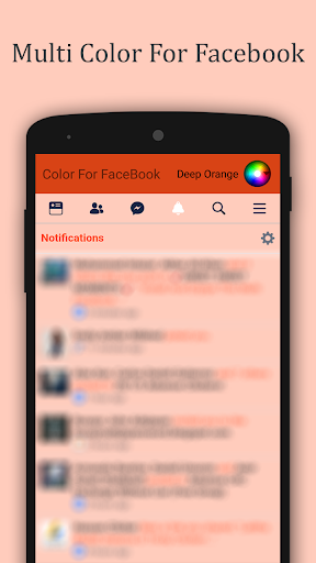 Multi Color For Facebook 1.0 screenshots 6