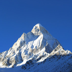 Mount Shivling by Saikat Datta - Landscapes Mountains & Hills ( tapovan trek )