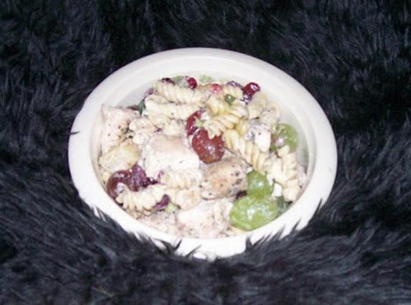Vegetable & Cashew Chicken Pasta Recipe
