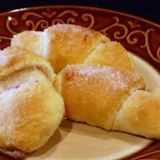 Raspberry Honey-Walnut Crescent Rolls