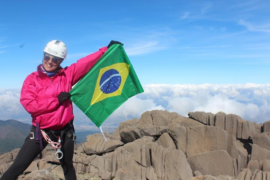 Pico das Agulhas Negras, 2790,94m, quinta Montanha mais alta do Brasil e ponto culminante do Rio de Janeiro. Parque Nacional do Itatiaia. Rio de Janeiro, Brasil. Fabiola Pineda.