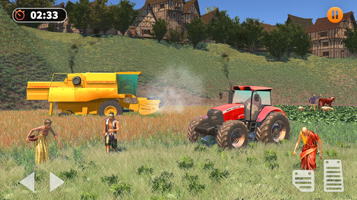 Tractor Farming Simulator - Big Farm Tractor Games apkmr screenshots 6