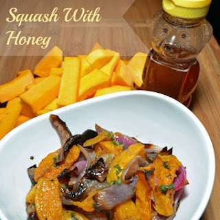 Roasted Butternut Squash with Honey.