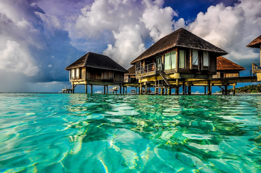 Lagoon Suites, Club Med Maldives by Rod Looi - Landscapes Travel ( club med, lagoon suites, beach, travel, paradise, maldives )