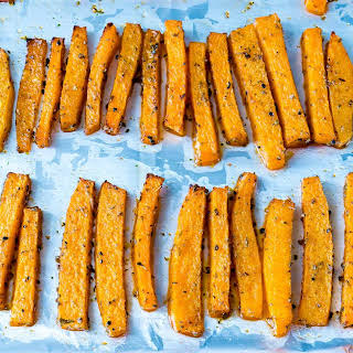 Baked Butternut Squash Fries.