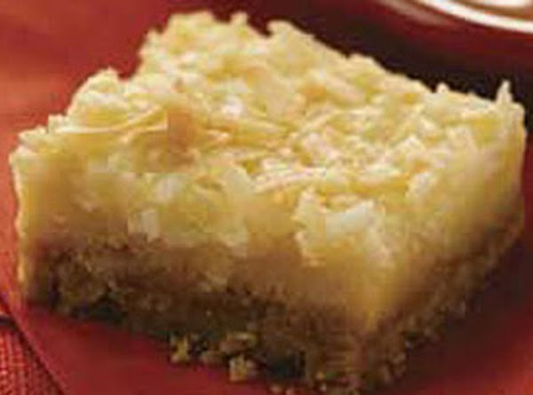 Lemon Coconut Squares Recipe