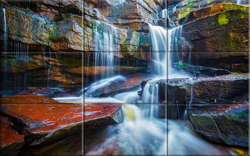Puzzle - Amazing waterfalls apktram screenshots 8