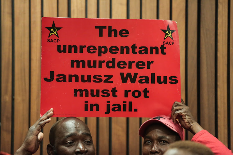 Judge Selby Baqwa is presiding over Tuesday's parole application by Chris Hani's killer' Janusz Walus.