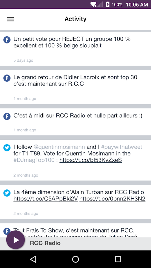 RCC Radio- screenshot