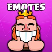 Emotes Simulator for Clash Royale