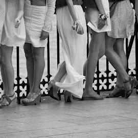Legs by Jose Maria Vidal Sanz - People Street & Candids
