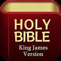 King James Bible (KJV) - Free Bible Verses + Audio icon