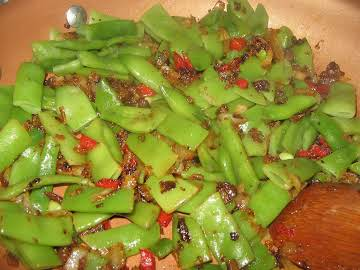 Italian Green Beans- my way