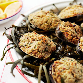 Baked Stuffed Clams.