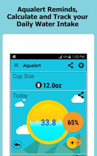 Aqualert:Water Intake Tracker &Reminder Google Fit screenshot 9