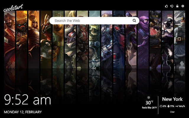 League of legends hd wallpapers lol new tab chrome web store install league of legends hd wallpapers lol new tab theme and get hd images of league of legends gameplay and lol characters voltagebd Gallery