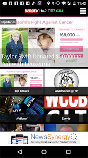 WCCB Charlotte- screenshot thumbnail