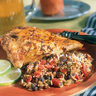 Spicy Lime Chicken With Spanish-Style Rice