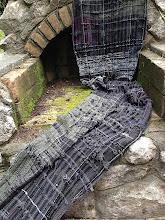 Photo: my  saori petwer cotton weaving