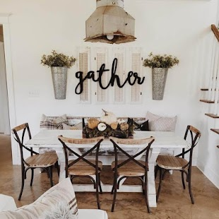Farmhouse Dining Room Ideas - náhled